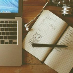 journal-next-to-macbook